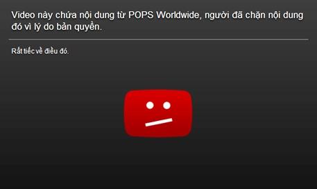 Dịch vụ Youtube thắt chặt bản quyền nhạc Việt