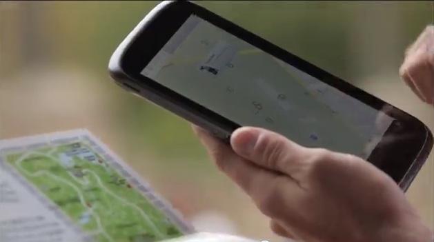 Nexus 7 mới có thể đã bị lộ trong video quảng cáo Google Maps