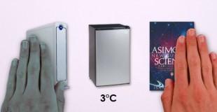 Con người có thực sự cảm thấy nóng và lạnh?