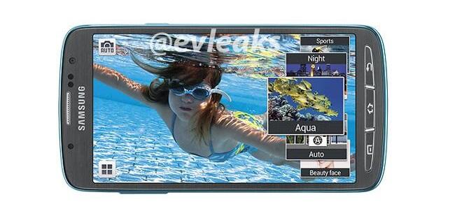 Lộ diện hàng loạt ảnh chụp Galaxy S4 Active