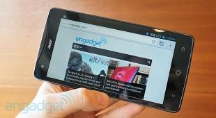 Acer giới thiệu tablet Iconia W3 và điện thoại Liquid S1 màn 5.7 inch
