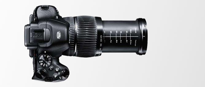 Fujifilm X-S1 zoom 24x có chức năng như máy ảnh DSLR