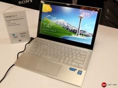 Ultrabook Sony mới tự hào với tuổi thọ pin 15 giờ