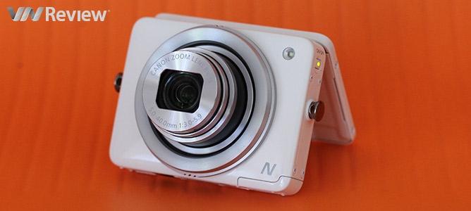 """VnReview tặng bạn đọc """"máy ảnh không nút chụp"""" Canon PowerShot N"""