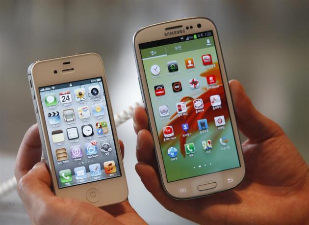 Galaxy S4 bán chạy hơn iPhone 5 tại Mỹ