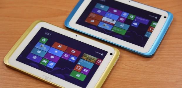 Microsoft ra mắt tablet Windows 8.1 chạy vi xử lý Bay Trail 4 nhân