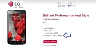 LG giới thiệu Optimus L7 II Dual chạy Android 4.3