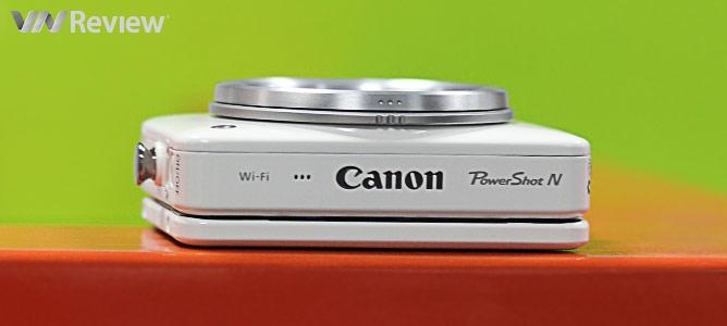 Đánh giá máy ảnh Canon PowerShot N