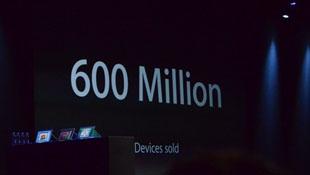 Apple: 600 triệu thiết bị chạy iOS đã được bán ra