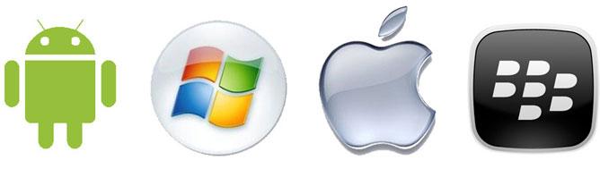 So sánh tính năng iOS 7, Android, BlackBerry và Windows Phone