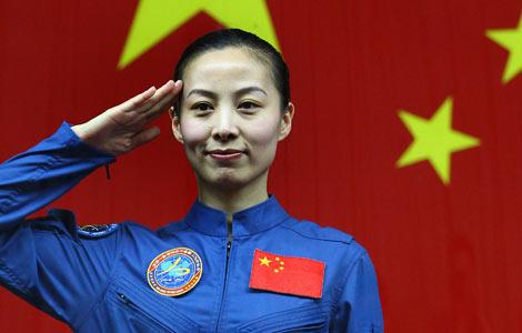 Gặp cô gái 33 tuổi trong phi hành đoàn Thần Châu 10