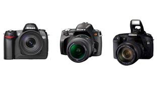 Phân biệt máy ảnh DSLR theo thương hiệu