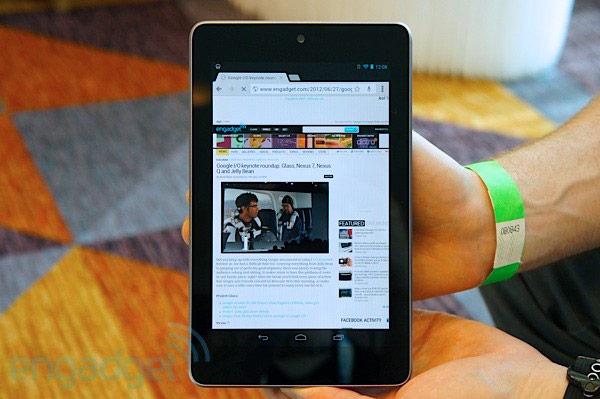 Nexus 7 mới: màn hình độ phân giải cao, giá từ 229 USD, bán từ tháng 7