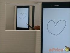 Sony Xperia ZU cảm ứng bằng bút chì, Snapdragon 800?