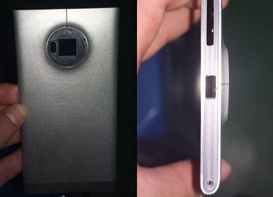 Lộ ảnh Nokia EOS thân nhôm, camera 41MP