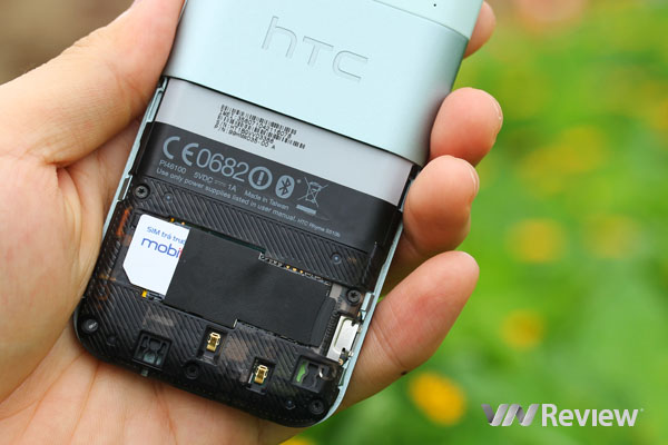 Đánh giá nhanh điện thoại HTC Rhyme