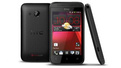 HTC Desire 200 giá rất rẻ, cam 5MP, Beats Audio và màn hình 3.5''