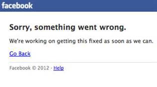 Facebook gặp sự cố không chỉ ở Việt Nam