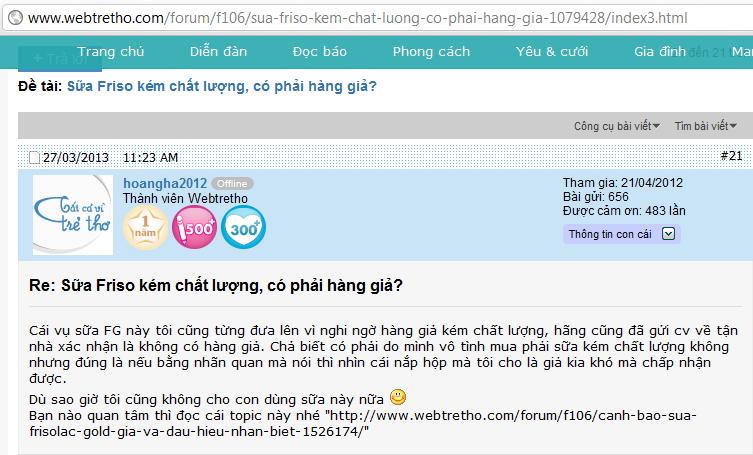 Webtretho, Lamchame: Nỗi sợ hãi của các doanh nghiệp Việt