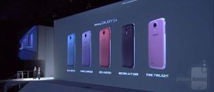 Samsung Galaxy S4 thêm 5 màu: xanh, tím, đỏ, nâu và hồng
