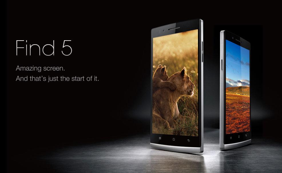 "Oppo công bố Find 7, ""cân nhắc"" Find 5 chạy Android gốc"