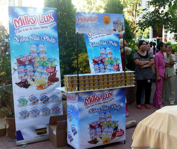 quảng cáo váng sữa