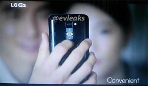 Mặt sau LG G2 bị lộ trong loạt ảnh quảng cáo mới
