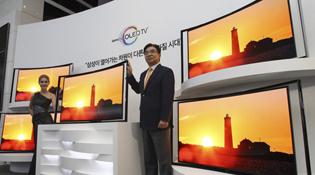 Samsung trình làng TV OLED cong 55 inch giá 15.000 USD, đắt gấp 5 lần TV LCD