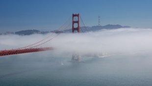 Chiêm ngưỡng San Francisco qua video Time-Lapse ấn tượng
