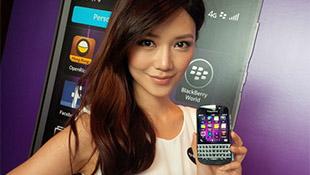 Blackberry Q10 trên tay mẫu Hong Kong