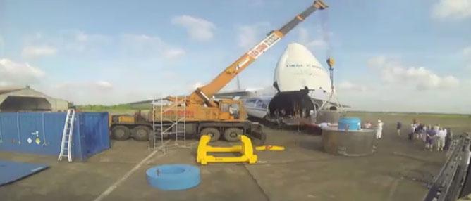 Video đưa 11 kg uranium độ giàu cao khỏi Việt Nam