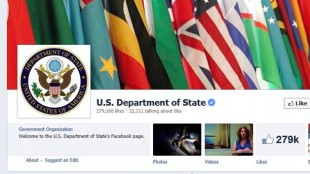 """Bộ Ngoại giao Mỹ chi hơn nửa triệu đô để """"câu like"""" fanpage Facebook?"""