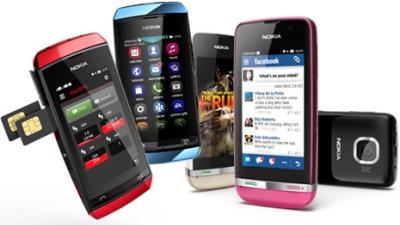 Dòng Asha của Nokia được cập nhật nhiều tính năng mới