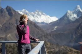 """Mạng 4G LTE """"chinh phục"""" đỉnh Everest thành công"""