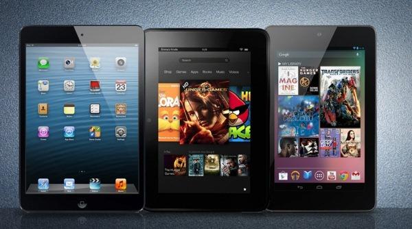 iPad Mini 2, Nexus 7 2 và Kindle Fire HD 2: 5 điều nên biết