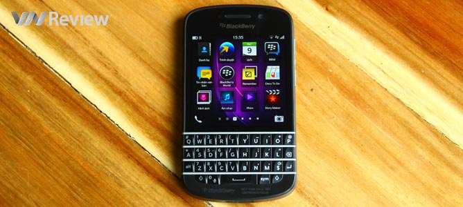 Đánh giá BlackBerry Q10
