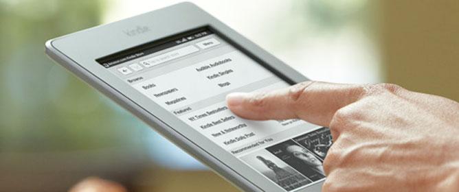 Trên tay Kindle Touch (Wi-Fi) về Việt Nam