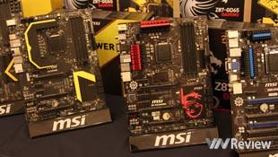 MSI giới thiệu sản phẩm mới dòng Gaming và OC