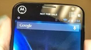 Moto X lộ diện trong ảnh mới nhất
