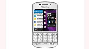 BlackBerry Q10 vừa có phiên bản màu trắng ở Việt Nam