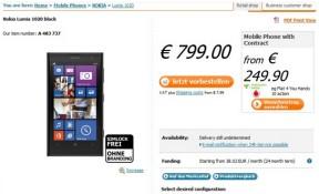 Lumia 1020 bán ra ngày 26/07, giá 660 USD ở Mỹ, 800 EUR ở Đức