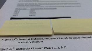 Tin đồn Moto X sẽ bán tại Mỹ vào ngày 26/8