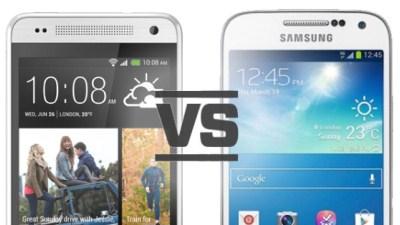 So sánh Samsung Galaxy S4 Mini và HTC One Mini qua các con số