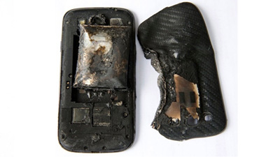 Pin trên chiếc Galaxy S III bị nổ là hàng không chính hãng