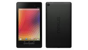 Lộ ảnh báo chí đầu tiên của Nexus 7 II