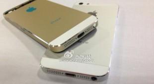 Ảnh iPhone 5S màu vàng ánh kim xuất hiện