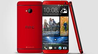 HTC One bản màu đỏ vừa được bán ở Việt Nam