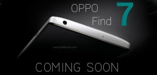 Oppo Find 7: 5 inch Full-HD, Snapdragon 800, giá 700 USD