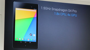 Thông số và cấu hình Nexus 7 mới