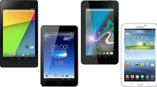 Đọ Nexus 7 mới với bộ ba máy tính bảng Android 7 inch